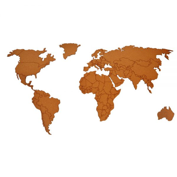 World Map - Country Borders